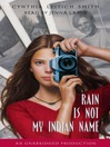 Rain Is Not My Indian Name (MP3)